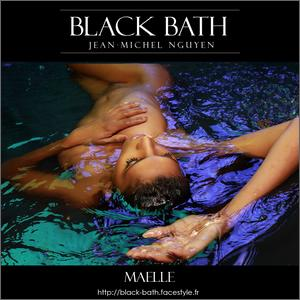black bath nude and beauty