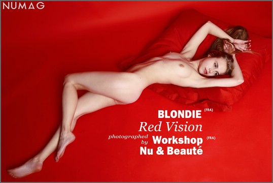 blondie in red vision by workshop nu beaute numag