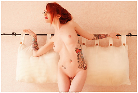 sandy douii naked tattoo girl skin exp